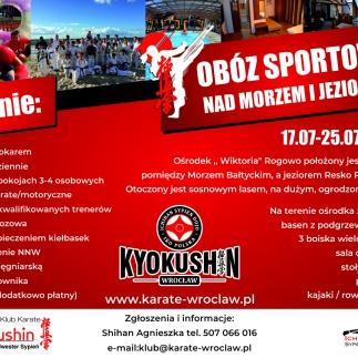 Obóz sportowy Rogowo